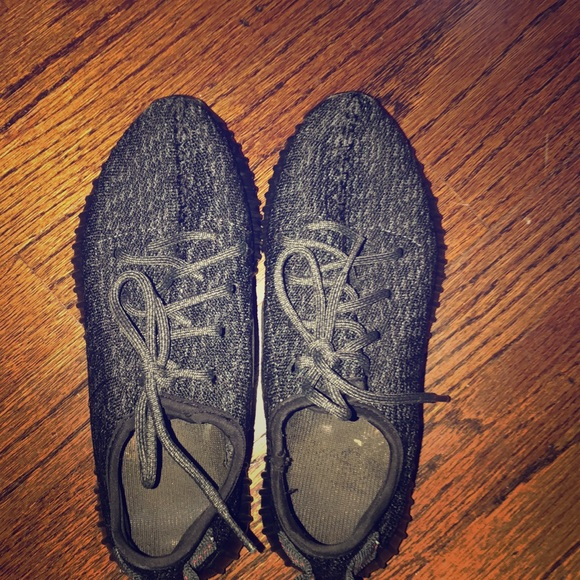 adidas Shoes - Black yeezy boost sneakers